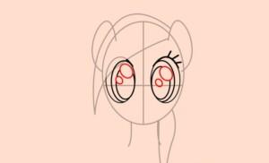 Добавляем детали глаз