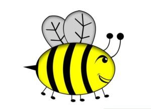 Раскрашивам пчелку