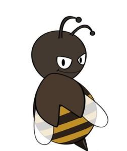 Раскрашиваем пчелу