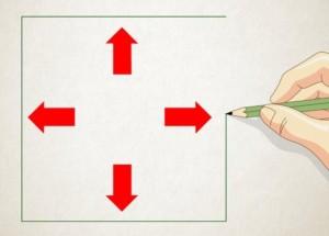 Рисуем пирамиду Шаг 1