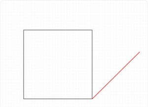 Рисуем куб Шаг 1
