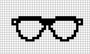 Очки простые.