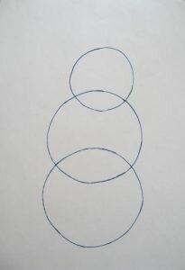 Рисуем три окружности