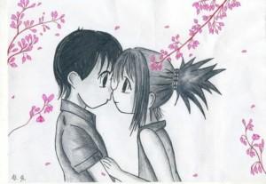 Любовь - подборка карандашных рисунков