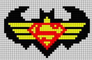 Логотип Batman vs Superman