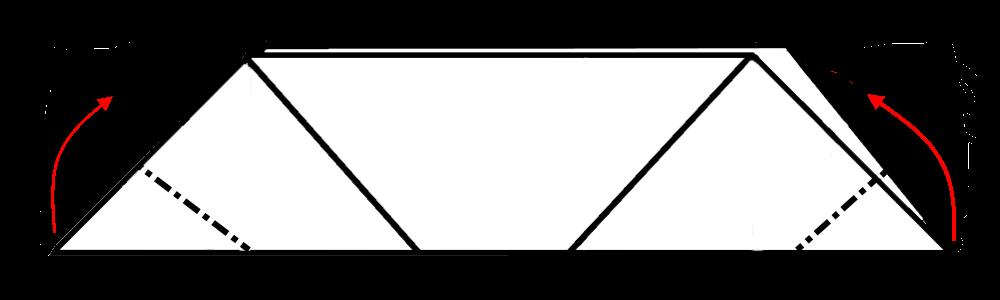 Оригами свинья