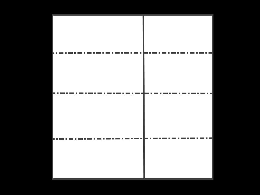 Оригами носорог бумага А4