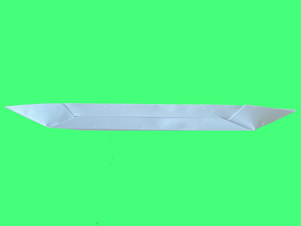 Оригами байдарка, лодка