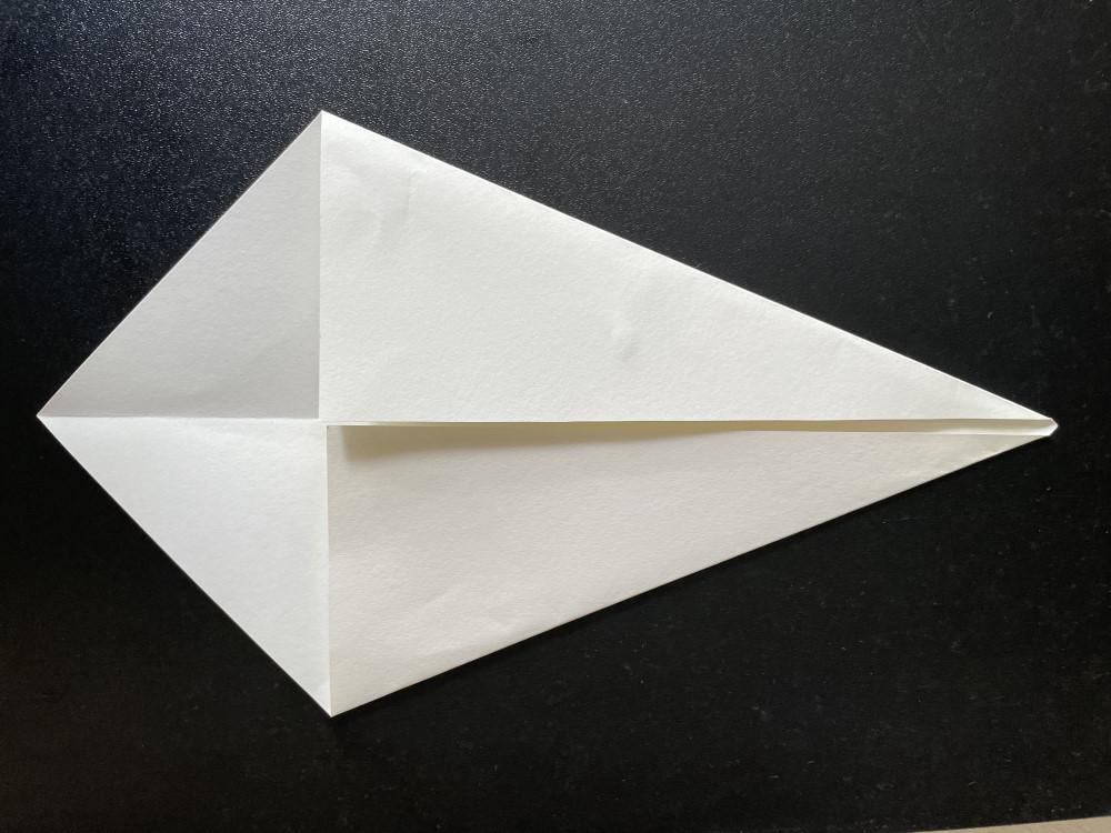 Оригами белый лебедь