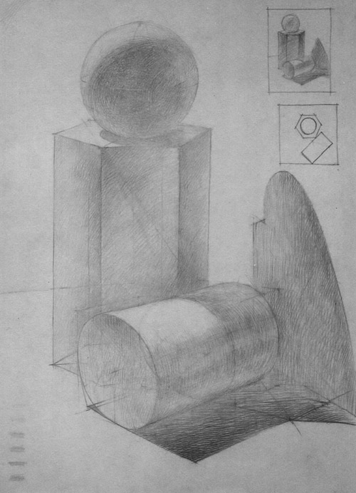 рисунки многогранников