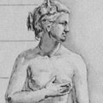 рисунок женской фигуры венера медичи