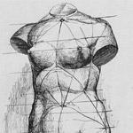 рисунок женской фигуры