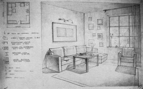 рисунки архитектуры карандашом: