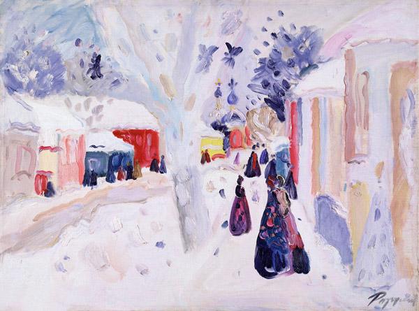 разгулин зима в переславле