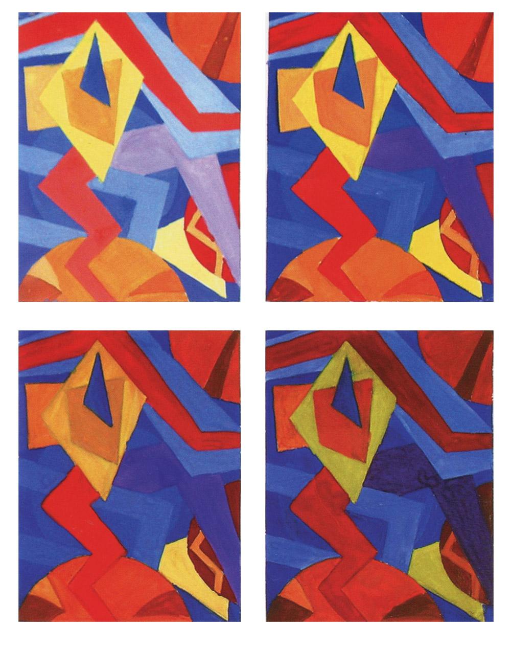 цвет и фотография композиция комбинированная